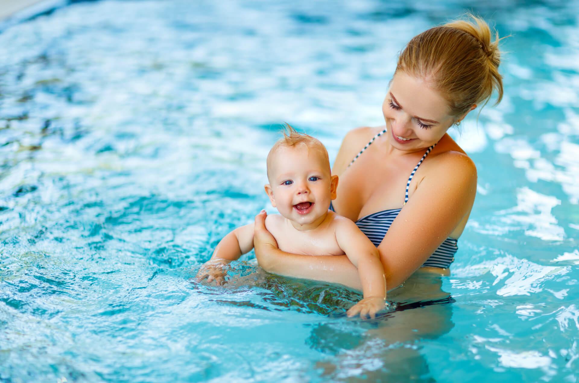 Klub plavání dětí Aquamarin v Praze 4 Krči